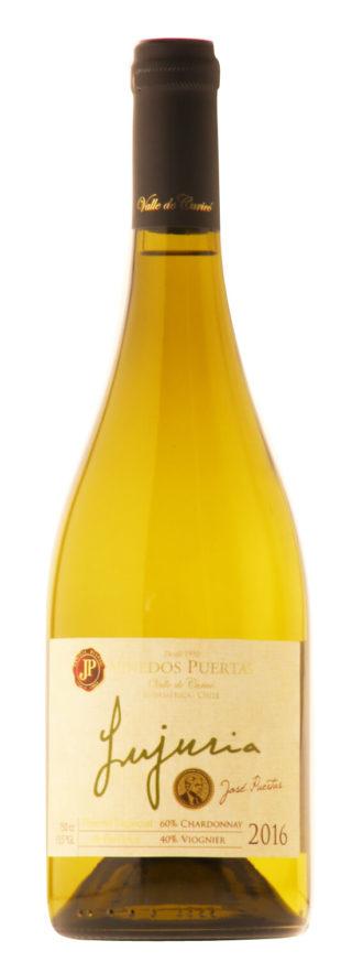 Lujuria Reserva Especial de Barricas Chardonnay Viognier 2016 - Viñedo Puertas