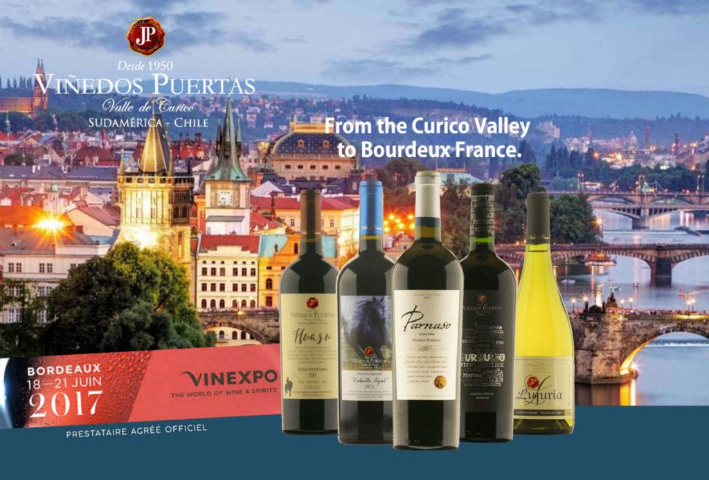 Participación de Viñedos Puertas en Feria de vinos VINEXPO Bordeaux, Francia 2017