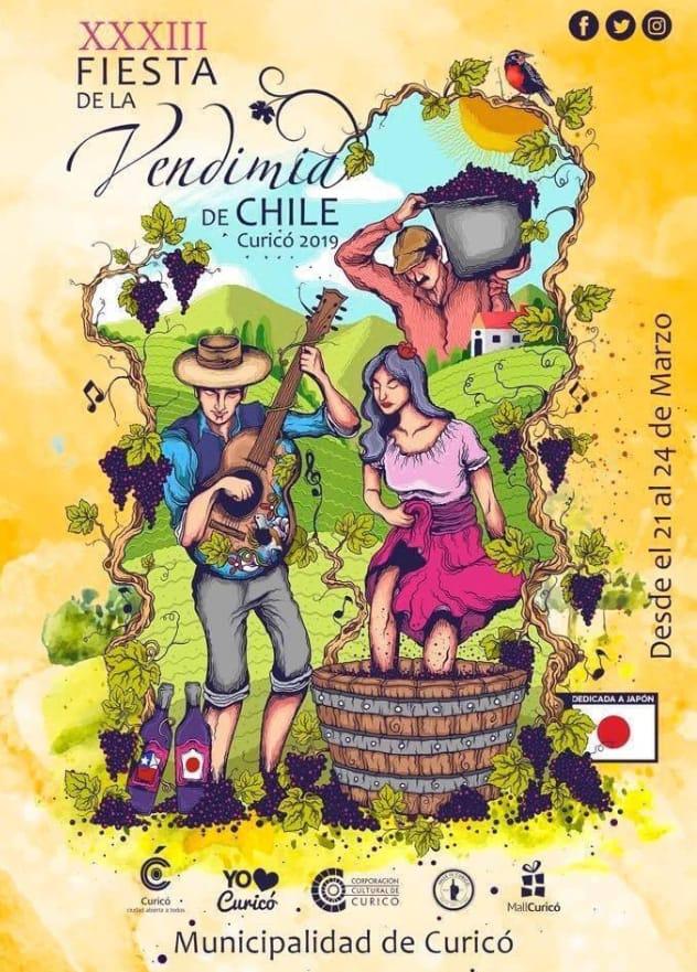 festival vendimia curico 2019